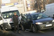 Dopravní nehoda v ulici Havlíčkova.