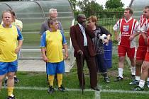 Oslava 70. výročí fotbalu v Dolních Chvatlinách.