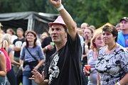 Na slavná léta festivalu Rock for People zavzpomínali v sobotu v areálu českobrodského stadionu Na Kutilce, kam se alespoň na jeden den opět vrátilo festivalové dění.