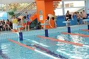 Kolínské sportovní dny 2015 - plavání.