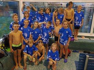 Plavání VC Kolína.