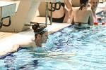 Venkovní bazén Vodního světa Kolín v neděli 20. června 2021.