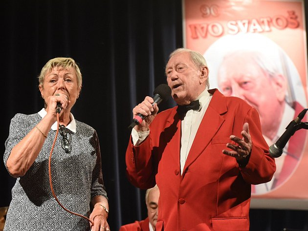 Koncert byl zároveň oslavou jeho životního jubilea.