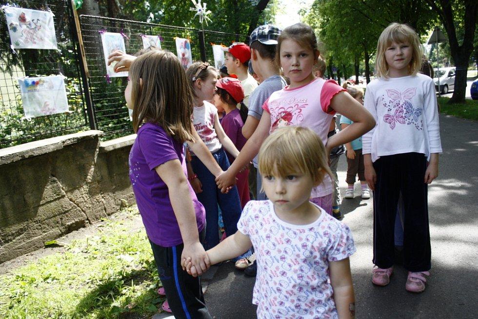 Výstava obrázků dětí z mateřské školky