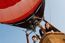 Vítězové získlali letenku na let balonem