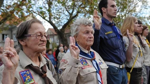 Kolínští si připomínali den vzniku samostatného československého státu