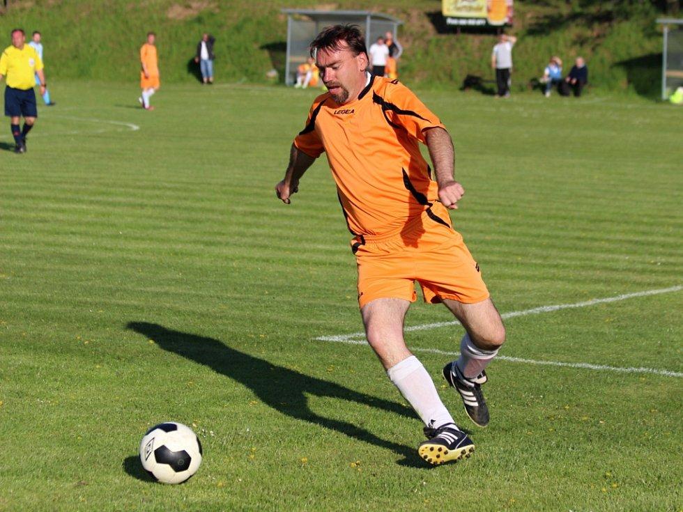 Z utkání Třebovle - Jevany (0:3).