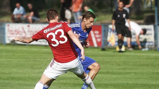 Z přípravného utkání FK Kolín - Žižkov (2:2).
