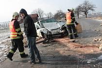 Smrtelná nehoda u Lošan