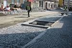 Rekonstrukce Pražské ulice v Kolíně.
