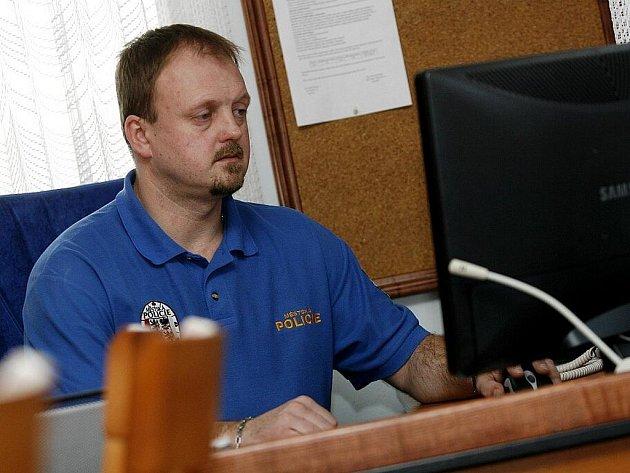 Viktor Prokeš, ředitel Městské policie v Kolíně.