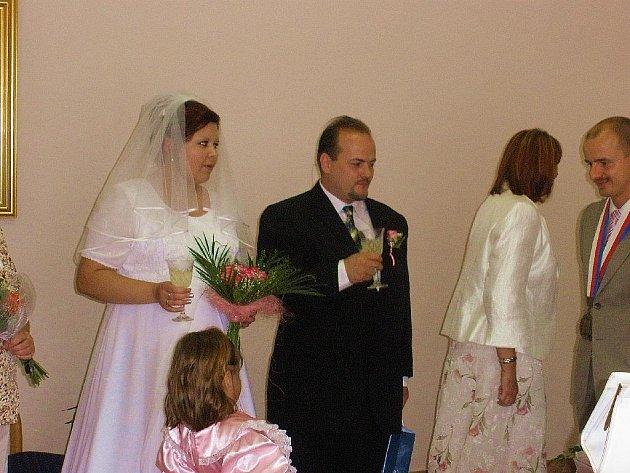 První svatba v Cerhenicích