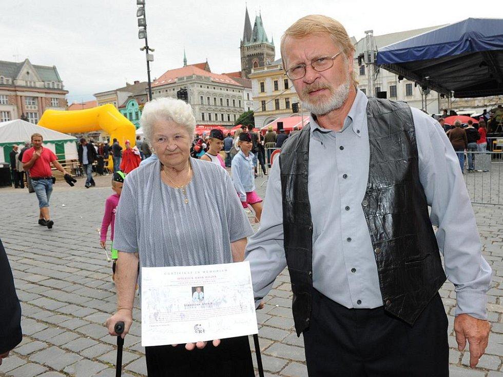 Ze slavnostního předávání pocty pro Stanislava Slavíka