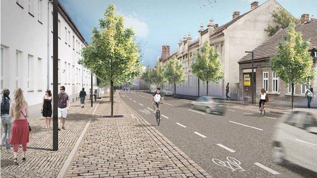 Budoucí podoba Pražské ulice.