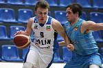 Z utkání 10. kola NBL BC Kolín - Olomoucko (98:85).
