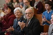 Z vernisáže hned tří výstav najednou v kolínské synagoze.