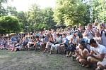 Otevřenou ulici zahájil starosta města Vít Rakušan a skupina Kolíňanka.