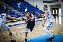 Přípravné basketbalové utkání: Kolín - Ostrów Wielkopolski 63:91.