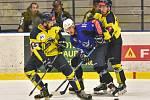 Těsné vítězství. Hokejisté Kolína porazili v dalším zápase druhé ligy na svém ledě mužstvo Kobry Praha těsně 3:2 a v tabulce jsou momentálně na prvním místě.