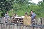 Dobřichovští vědí, jak asi mohl vypadat Markomanský pohřeb
