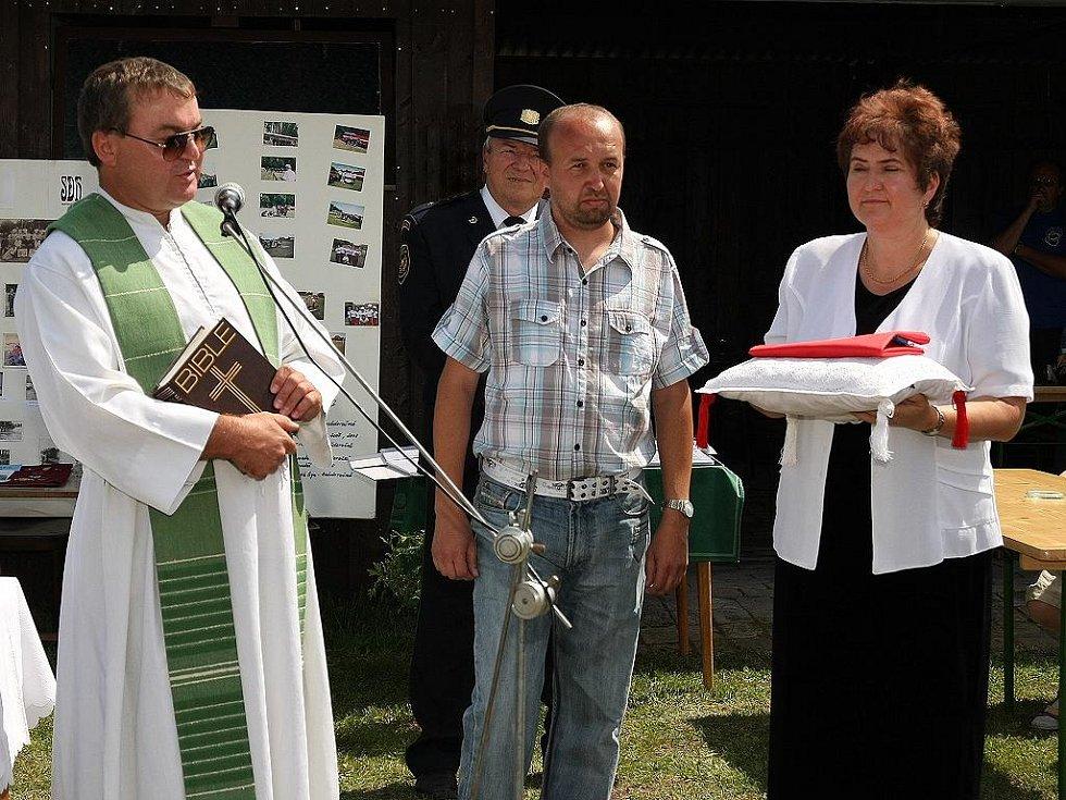 Oslavy 120. výročí založení SDH Konárovice.