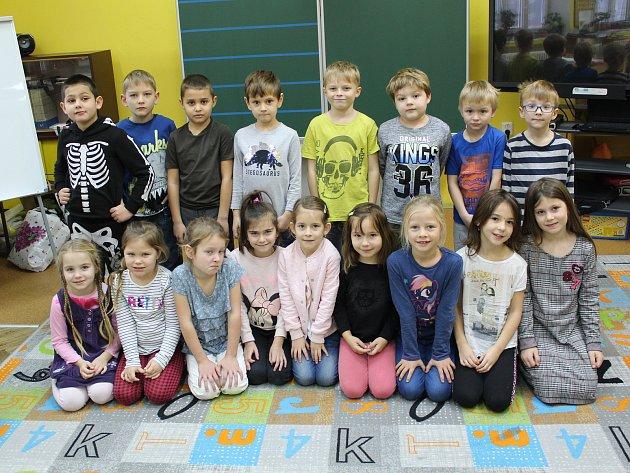 Základní škola vPlaňanech - třída 1.B ve školním roce 2019/2020.