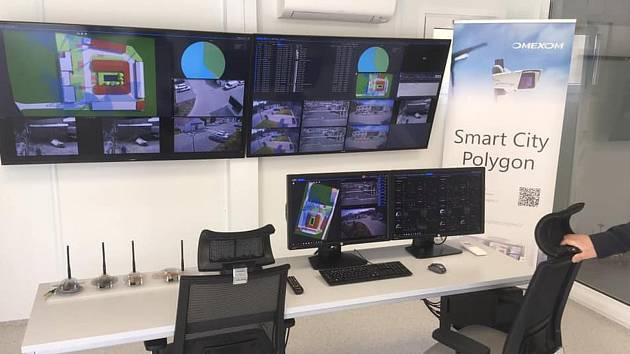 Řídící centrum systému smart city. Ilustrační foto.