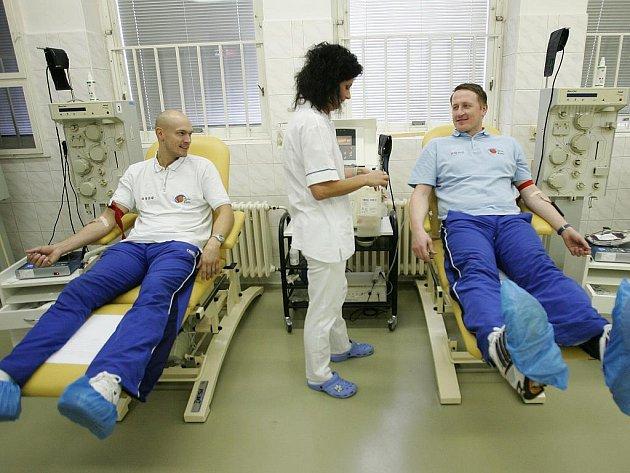 Basketbalisté BC Kolín spolu s fanoušky darovali krev