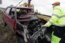 Dopravní nehoda na silnici I/38. 21.12. 2008