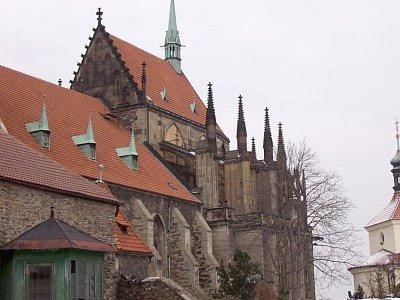 Chrám svatého Bartoloměje.