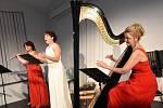 Z koncertu dámského tria Musica Dolce Vita v rámci cyklu Kruh přátel hudby v Kolíně.