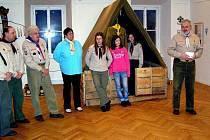 V hrnčířském muzeu je výstava skautů