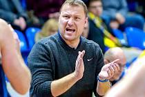 Trenér kolínských basketbalistů Pavel Beneš