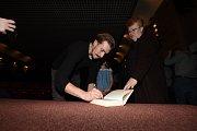 Film Nápadník doprovodila v kolínském kině delegace tvůrců