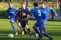 Z utkání FK Kolín U15 - Hradec Králové (2:0).