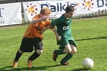 Z utkání FK Kolín U12 (ročník 2001) - Letohrad (5:4).
