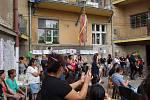 Ze slavnostního otevření klubu Zetko v Zengrově ulici v Kolíně.