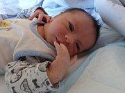 Tobiáš Dvořák se narodil 14. dubna 2019, vážil 3 220 g a měřil 50 cm. V Kolíně bude bydlet s maminkou Veronikou a tatínkem Tomášem.