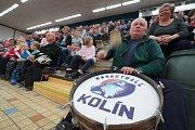 Z basketbalového utkání NBL Kolín - Brno (89:69)