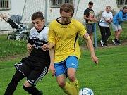 Z utkání krajského přeboru mladšího dorostu FK Kolín - Kosmonosy (9:0).