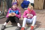 Charitativní běžecký závod Od nevidím do nevidím ve Stříbrné Skalici