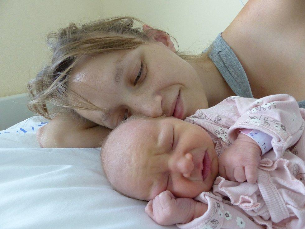 Milada Kratochvílová se narodila 18. září 2020 v kolínské porodnici, vážila 3150 g a měřila 49 cm. V Hřibech se z ní těší sestřička Vendulka (4) a rodiče Klára a Bohumil.
