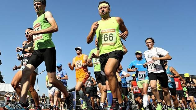 Z běžeckého závodu KVOK 2020.