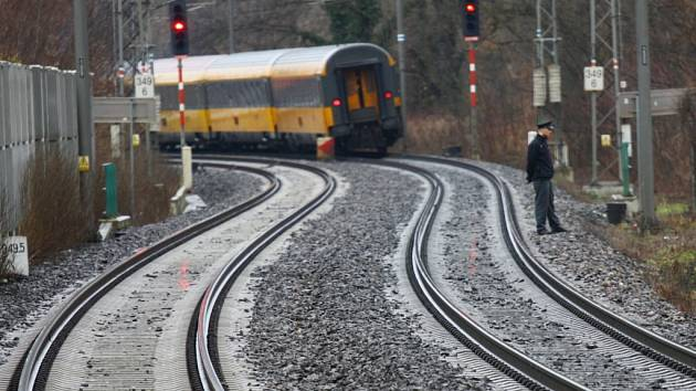 Tragická vlaková nehoda. Ilustrační foto.