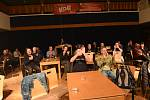 Z koncertu kapely Energit v Městském společenském domě v Kolíně.