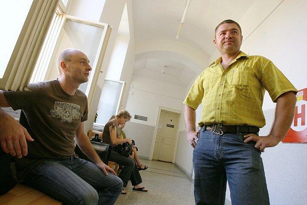 Soud s ex-policisty Josefem Hladíkem a Davidem Procházkou