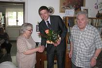 Vlastimila a Otto Ryznerovi oslavili diamantovou svatbu