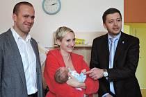 První kolínské miminko přišlo na svět 4. ledna.
