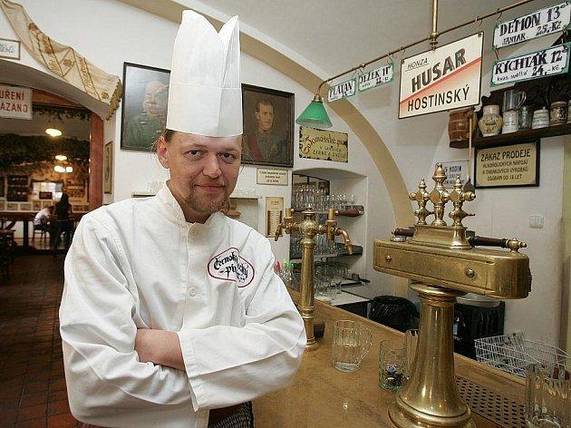 Radek Lochman z Černokosteleckého zájezdního pivováru