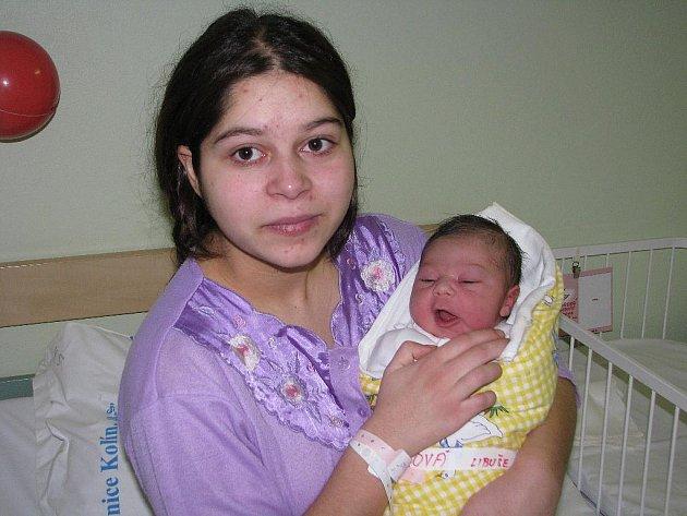 Prvním novorozenětem letošního roku je v Kolíně Libuška Gašparová
